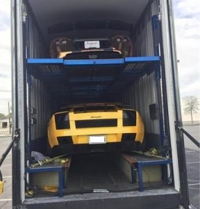 luxury car transport