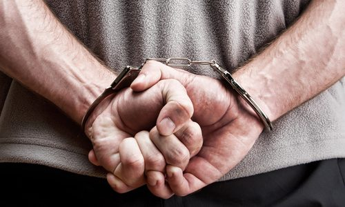 A Man Arrested in Charges of Operating Under Influence and Resisting Arrest