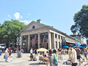 Quincy Market Reopens To Small Gatherings