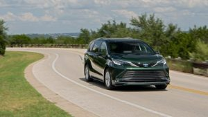 Toyota Sienna Earns Highest Safety Award for Top Safety Pick+