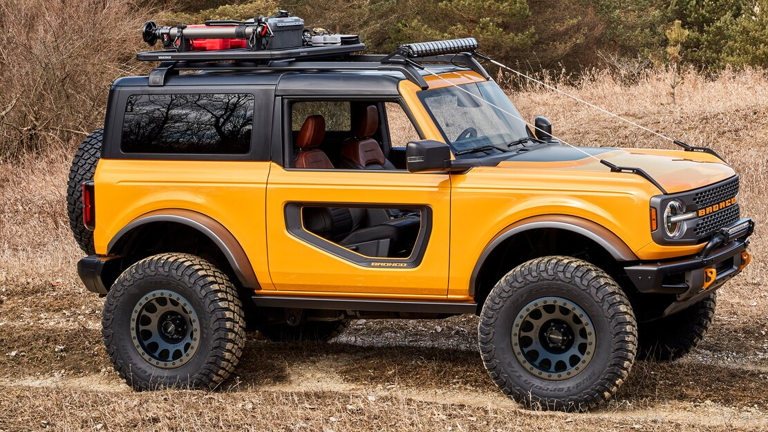 Hennessey Modification Plant Creates A V-8 Out Of The Ford Bronco